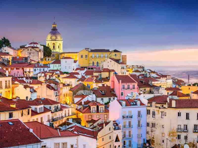 Die Stadt Lissabon